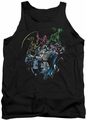 Batman tank top Surrounded adult black
