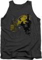 Batman tank top The Dark City adult charcoal