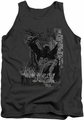 Batman tank top The Knight Life adult charcoal