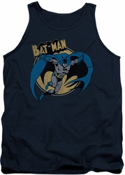 Batman tank top Through The Night adult navy