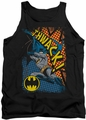 Batman tank top Thwack adult black