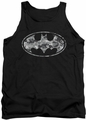 Batman tank top Urban Camo Shield adult black