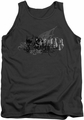Batman tank top Urban Crusader adult charcoal