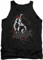Batman tank top Urban Gotham adult black