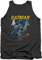 Batman tank top Urban Gothic adult charcoal