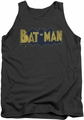 Batman tank top Vintage Logo Splatter adult charcoal