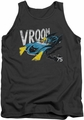 Batman tank top Vroom adult charcoal