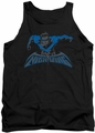 Nightwing tank top Wing Of The Night adult black