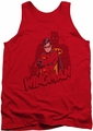 Batman tank top Wingman adult red