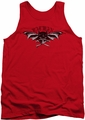 Batman tank top Wings Of Wrath adult red