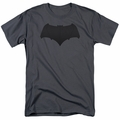 Batman Vs Superman t-shirt Batman Logo mens charcoal