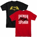 Batman vs Superman t-shirts