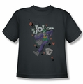 The Joker youth teen t-shirt Always A Joker charcoal