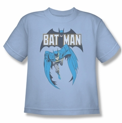 Batman youth teen t-shirt Batman #241 Cover light blue