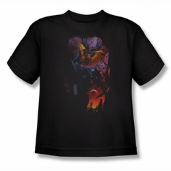 Batman youth teen t-shirt Batman & Robin #1 black