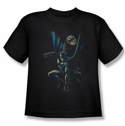 Batman youth teen t-shirt Calling All Bats black