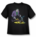 Batman youth teen t-shirt Detective #69 Cover The Joker black