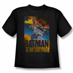 Batman youth teen t-shirt Dk Returns black