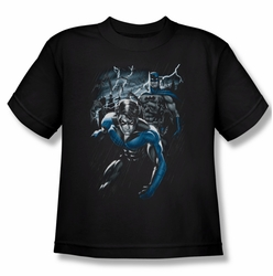 Batman youth teen t-shirt Dynamic Duo black