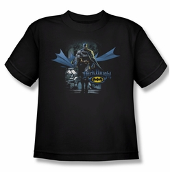 Batman youth teen t-shirt From The Depths black
