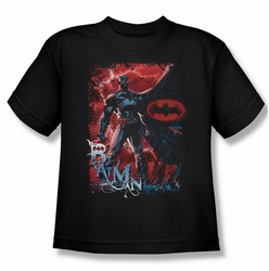 Batman youth teen t-shirt Gotham Reign black