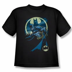 Batman youth teen t-shirt Heed The Call black