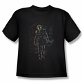The Joker youth teen t-shirt Joker Leaves Arkham black