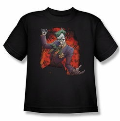 Joker youth teen t-shirt Ave black