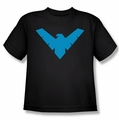 Nightwing youth teen t-shirt Nightwing black