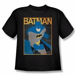 Batman youth teen t-shirt Simple Poster black