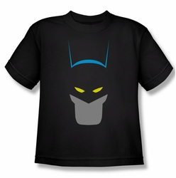 Batman youth teen t-shirt Simplified black