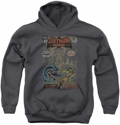 Batman youth teen hoodie #232 Cover charcoal