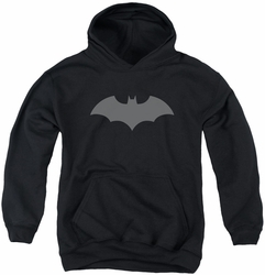 Batman youth teen hoodie 52 Black black