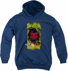 Batman youth teen hoodie Bat Killers 2 navy