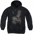 Batman youth teen hoodie Batman #1 black