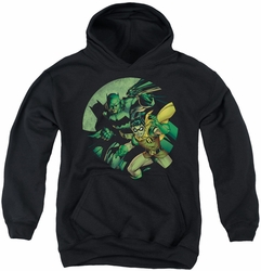 Batman youth teen hoodie Batman And Robin black
