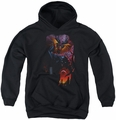 Batman youth teen hoodie Batman & Robin #1 black