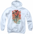 Batman youth teen hoodie Batwoman #1 white