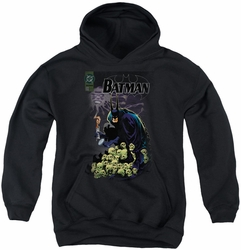 Batman youth teen hoodie Cover #516 black