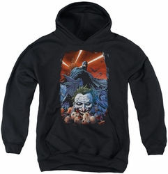 Batman youth teen hoodie Detective Comics #1 black