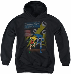 Batman youth teen hoodie Dynamic Duo black