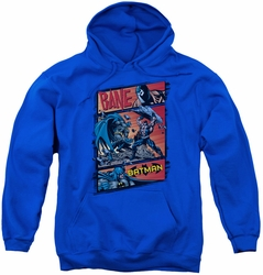 Batman youth teen hoodie Epic Battle royal blue