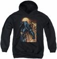 Batman youth teen hoodie The Dark Knight #1 black