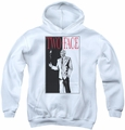 Batman youth teen hoodie Two Face white