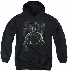 Batman youth teen hoodie Villains Unleashed black