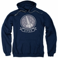 Battlestar Galactica pull-over hoodie Viper Squad adult Navy