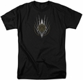 Battlestar Galactica t-shirt Crest Of Ships mens Black