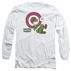 Beetle Bailey adult long-sleeved shirt Target Nap white