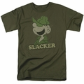 Beetle Bailey t-shirt Slacker mens military green