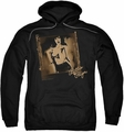 Bettie Page pull-over hoodie Exposed adult black